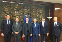 Costin Borc, Edoardo Garrone, Vincenzo Boccia, Dacian Cioloş, Mauro Maria Angelini