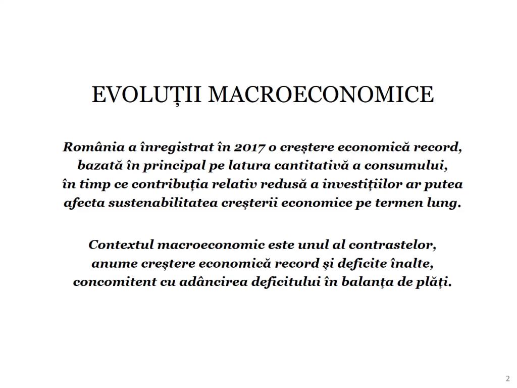 Economia României 2017 în grafice performanțe, riscuri, provocări - Cosmin Marinescu Cosmin Marinescu0182