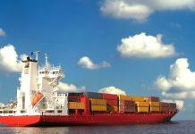 Containere, comert, nava, export