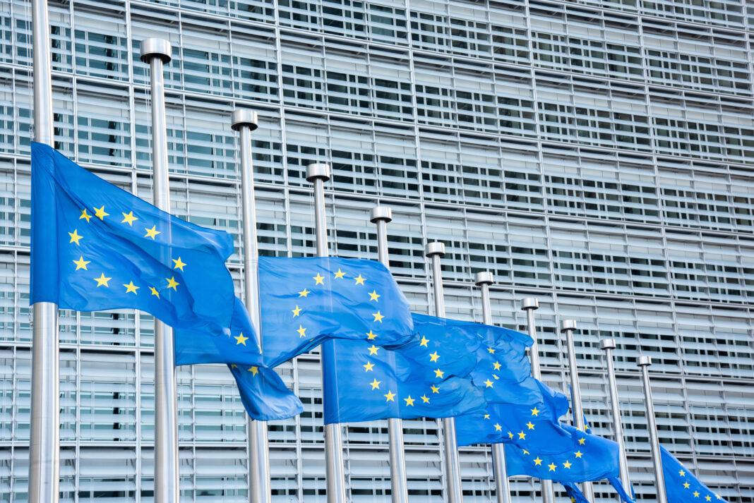 European, flags,